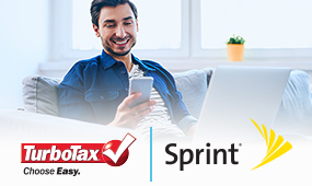 TurboTax® and Sprint® benefits